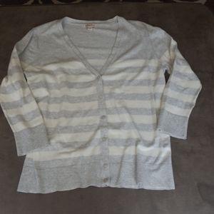 Merona striped cardigan